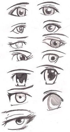 Amazing Learn To Draw Eyes Ideas. Astounding Learn To Draw Eyes Ideas. Doodle Drawing, Manga Drawing, Manga Art, Drawing Techniques, Drawing Tips, Drawing Reference, How To Draw Anime Eyes, Manga Eyes, Art Drawings Sketches