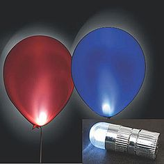 The Radiant LED Balloon Lights are a must have for any balloon. The 1 inch white LED balloon lights are quick and easy - just activate, insert and inflate.