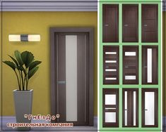 sssvitlans:   Doors Vivo Porte by Милена (Sims 4)... / Sims4 Custom Content Finds