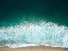 aerial photography of seashore photo – Free Ocean Image on Unsplash Desktop Background Pictures, Aerial Images, Aerial Drone, Ocean Waves, Water Waves, Aerial Photography, Beach Pictures, Aerial View, Framed Art