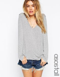 Image 1 ofASOS TALL The New Forever T-shirt With Long Sleeves