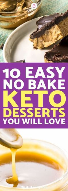 I love desserts and I especially love them when they are good for you like these keto desserts. Stick with the ketogenic diet and enjoy these sweets.