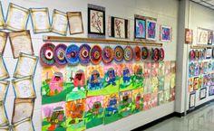 2nd grade art show