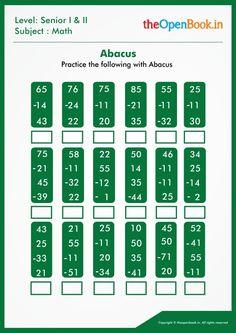 Fun Worksheets For Kids, School Worksheets, Math For Kids, Math 2, 1st Grade Math, Abacus Math, Model Question Paper, Homeschool Math, Calculus