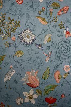 Pip Studio Wallpaper IV - Spring to Life Bleu - 375005