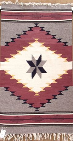 36x60 Vallero blanket by Rudy Lee Valdez, handwoven wool