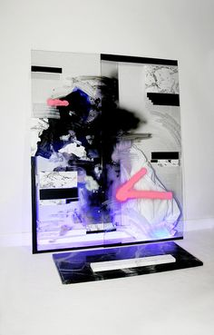 """juanvillascusa: """" Synthetic/Neon painting on Flickr. """""""