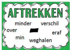 Bewerkingen School Posters, Education, Dutch, Dutch Language, Educational Illustrations, Learning, Studying