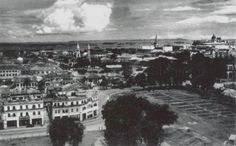 VIEW OF SINGAPORE TOWN FROM CATHAY BUILDING - 1945