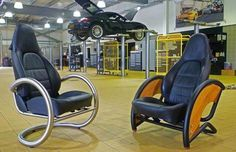 upclyed car parts furniture 15