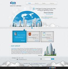 Real Estate Website. 2011