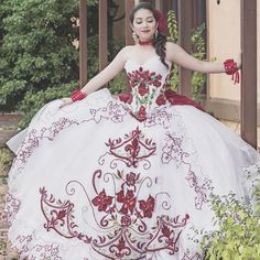 Traditional quinceanera gowns and modern quince attire - find the dress that is right for your body type. Mexican Quinceanera Dresses, Mexican Dresses, Quinceanera Ideas, Mariachi Quinceanera Dress, Quinceanera Cakes, Ball Gown Dresses, 15 Dresses, Wedding Dresses, Pageant Dresses