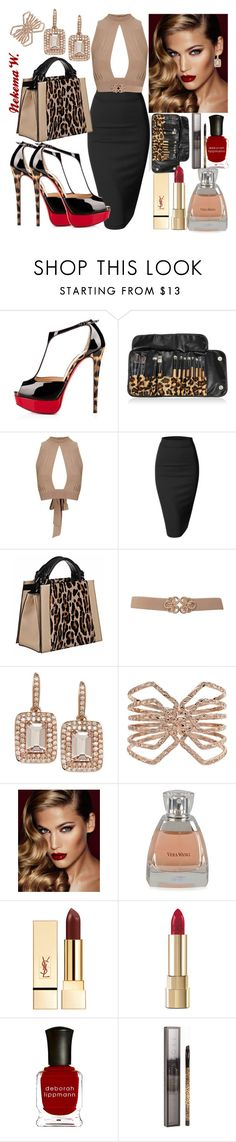 """"" by sexyshonda ❤ liked on Polyvore featuring Posh Girl, Topshop, Doublju, Caroline De Marchi, Apt. 9, Charlotte Tilbury, Vera Wang, Dolce&Gabbana, Deborah Lippmann and MAKE UP STORE"