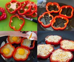 Kırmızı Biberli Yumurta Tarifi