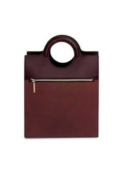 VICTORIA BECKHAM | NORTH SOUTH STRUCTURED TOTE