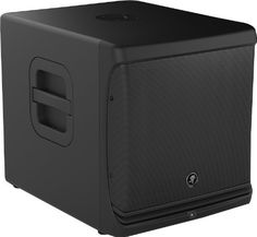 """Mackie DLM12S 12"""" Powered Subwoofer by Mackie. $999.99. Powerful Bass, Smart DSP and True Mackie Quality-You can rely on the Mackie DLM12S powered subwoofer for thumping, powerful bass - much more than you'd expect from its compact size. That's because the DLM12S boasts 2,000 watts of Class D amplification, powering a custom-designed 12"""" woofer with 3"""" voice coil. And you'll get a great sound fast - the DLM12S has presets specifically for use with Mackie DLM and SRM Series l..."""