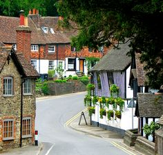 Ightham, Kent, England, the next village to where I used to live