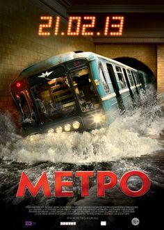 Pânico no Metrô (Метро, Anton Megerdichev)