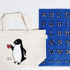 Penguin Bag & Clear folder 先日いただいた、スイカペンギンでお馴染みの坂崎千春さんのペンギングッズです #ペンギン #penguin #ぺもの #トートバッグ #totebag #クリアファイル #Clearfolder #坂崎千春 #chiharusakazaki