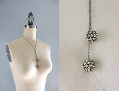 Vintage Necklace / 1930s Jewelry / 20s 30s by HolliePoint on Etsy, $48.00