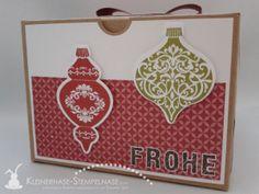 Stampin Up Weihnachten Ornament Keepsakes Santa Geschenkbox Alphabet 02
