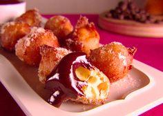 Orange and Chocolate Zeppole recipe from Giada De Laurentiis via Food Network