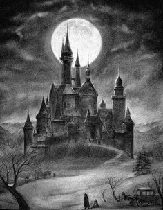 Top Gothic Fashion Tips To Keep You In Style. Consistently using good gothic fashion sense can help Gothic Fantasy Art, Fantasy City, Fantasy Castle, Fantasy Kunst, Dark Fantasy, Gothic Castle, Dark Castle, Halloween Pictures, Halloween Art