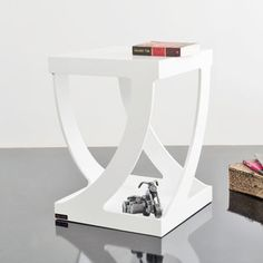 Togo Style Table White, 398€, now featured on Fab.