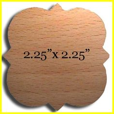 Wooden Quatrafoil cut out Custom Laser cut only for DIYGreek.com and all you Phi Mu girls!  Perfect for your paddles and crafts.