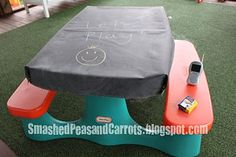 Chalk Cloth table cover