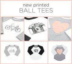 New Printed Ball Tees :) #liveinminimioche