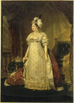 Marie-Therese-Charlotte, the Duchess of Angouleme - the only child of Louis XVI and Marie Antoinette to survive the French Revolution.
