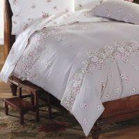 Cotton Percale Primrose Floral Duvet Cover