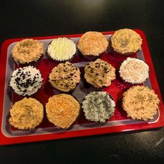 Cupcakes for the lil ones for the fall...