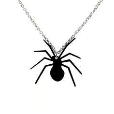 Hämähäkki-kaulakoru  Käy omasi tästä: Hämähäkki-kaulakoru sopii täydellisesti esimerkiksi Halloweeniin tai muutoin hämähäkin ystäville! Sopii myös täydellisesti Halloween-aiheiseksi lahjaksi! Riipuksen koko: 3,5 x 3,5 cm. Ketjun pituus 45 cm.  #samaskoru #korut #kaulakoru Insects, Halloween, Halloween Stuff