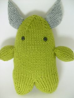 Adorkable Monster By Michele - Free Knitted Pattern - (niphil.wordpress)