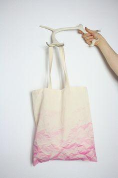 Jutebeutel Marble /  pink von ambience empire auf DaWanda.com
