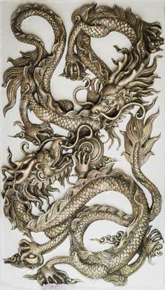 15479627-Dragon-sculpture-on-wall-Stock-Photo-dragon-chinese-china.jpg (JPEG Image, 740×1300 pixels)