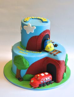 chuggington cake Chuggington cake Cake and Birthdays
