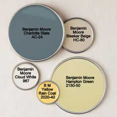 Benjamin Moore - Charlotte Slate AC-24.... maybe this blue for the dining room?