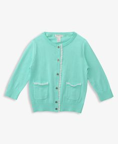 Lace Trim Cardigan | FOREVER21 girls - 2040161641