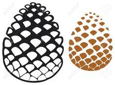 24875242-pine-cone-pine-tree-cone-pinecone--Stock-Vector.jpg (1300×969)