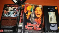 BLOODY NEW YEAR (1986) VHS