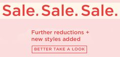 Long Tall Sally USA and Canada: Massive savings - 50% and more off