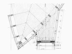Peter Zumthor, Saint Benedict Chapel, 1988, Vitg, Switzerland Architecture Drawings, Architecture Plan, Architecture Details, Peter Zumthor, Clyfford Still, Detailed Drawings, Technical Drawings, How To Plan, Architectural Sketches