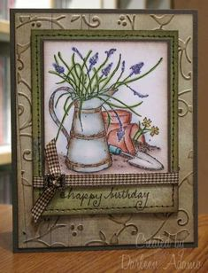Happy B-day, Fran!! by darleenstamps - Cards and Paper Crafts at Splitcoaststampers