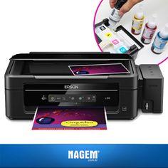 Sendo copiadora e scanner com exclusiva tecnologia, a Impressora Multifuncional Epson L355 vai superar todas as suas expectativas!