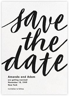 Save The Date, Hochzeit