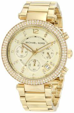 Michael Kors Women's MK5354 Parker Gold Watch: Watches: Amazon.com