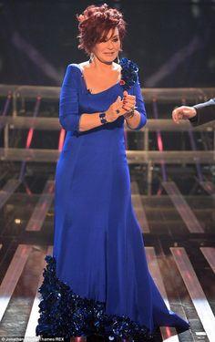 Sharon Osbourne dazzling in Stephen Webster Jewellery on X Factor.